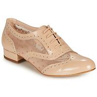 Topánky Ženy Derbie Fericelli ABIAJE Svetlá telová