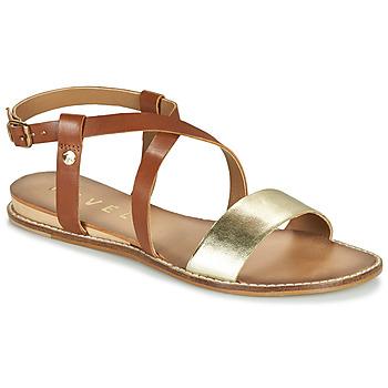 Topánky Ženy Sandále Ravel ASPEN Zlatá / Ťavia hnedá