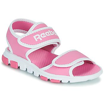 Topánky Deti Športové sandále Reebok Sport WAVE GLIDER III Ružová