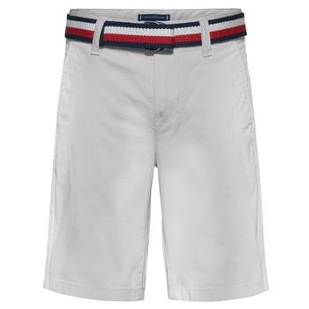 Oblečenie Chlapci Šortky a bermudy Tommy Hilfiger FORTA Biela