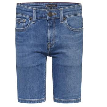 Oblečenie Chlapci Šortky a bermudy Tommy Hilfiger KAHUI Modrá