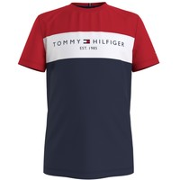 Oblečenie Chlapci Tričká s krátkym rukávom Tommy Hilfiger KB0KB06534-C87 Viacfarebná