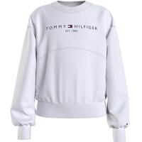 Oblečenie Dievčatá Mikiny Tommy Hilfiger THUBOR Biela