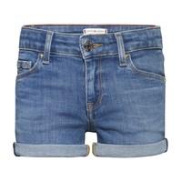 Oblečenie Dievčatá Šortky a bermudy Tommy Hilfiger KG0KG05773-1A4 Modrá
