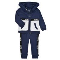 Oblečenie Chlapci Komplety a súpravy Guess P1RG00-KA6W0-DEKB Námornícka modrá