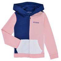 Oblečenie Dievčatá Mikiny Guess K1RQ00-KA6R0-F672 Biela / Ružová