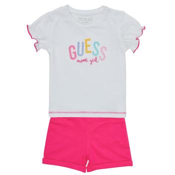 Oblečenie Dievčatá Komplety a súpravy Guess A1GG07-K6YW1-TWHT Viacfarebná