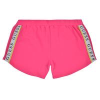 Oblečenie Dievčatá Šortky a bermudy Guess J1GD12-KAE20-JLPK Ružová