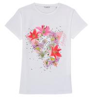 Oblečenie Dievčatá Tričká s krátkym rukávom Guess J1RI24-K6YW1-TWHT Biela