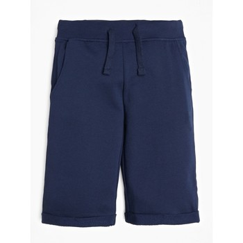 Oblečenie Chlapci Šortky a bermudy Guess L93Q25-K5WK0-C765 Námornícka modrá