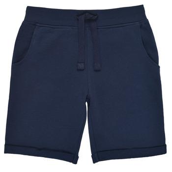 Oblečenie Chlapci Šortky a bermudy Guess N93Q18-K5WK0-C765 Námornícka modrá