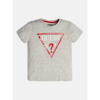 Oblečenie Chlapci Tričká s krátkym rukávom Guess L73I55-K5M20-M90 Šedá