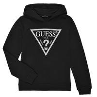 Oblečenie Dievčatá Mikiny Guess J83Q14-K5WK0-A996 Čierna