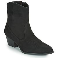 Topánky Ženy Čižmičky Vanessa Wu  Čierna