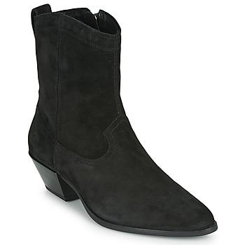 Topánky Ženy Čižmičky Vagabond EMILY Čierna