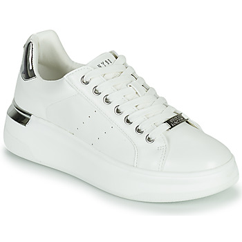 Topánky Ženy Nízke tenisky Steve Madden GLACIAL Biela / Strieborná