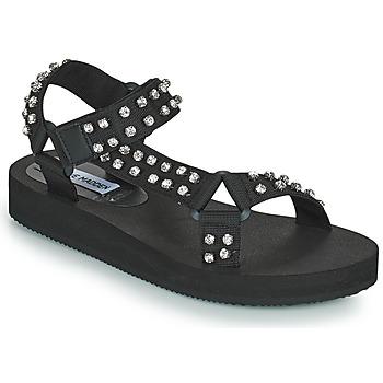 Topánky Ženy Sandále Steve Madden HENLEY-R Čierna