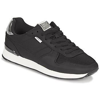Topánky Ženy Nízke tenisky Only SAHEL 4 Čierna / Strieborná