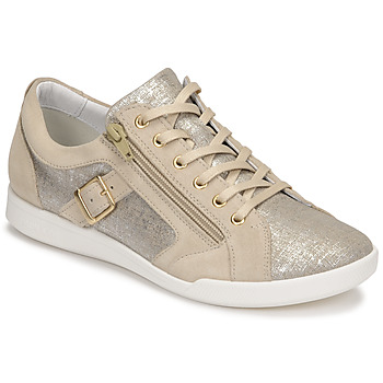 Topánky Ženy Nízke tenisky Pataugas PAULINE/T F2G Béžová / Zlatá