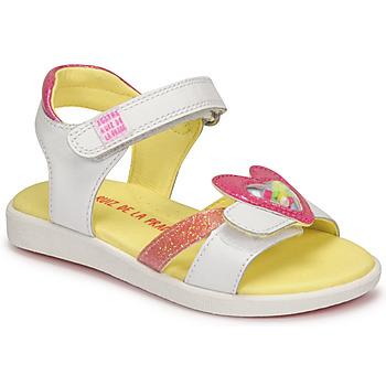 Topánky Dievčatá Sandále Agatha Ruiz de la Prada AITANA Biela