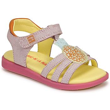 Topánky Dievčatá Sandále Agatha Ruiz de la Prada AITANA Ružová