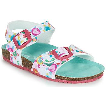 Topánky Dievčatá Sandále Agatha Ruiz de la Prada BIO Biela