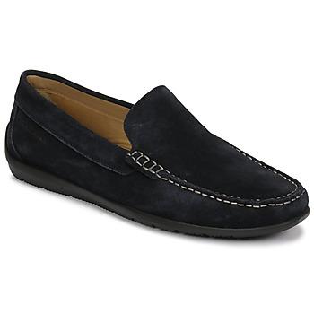 Topánky Muži Mokasíny Lumberjack LEMAN Námornícka modrá