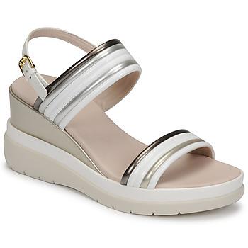Topánky Ženy Sandále Lumberjack ELAINE Biela / Béžová