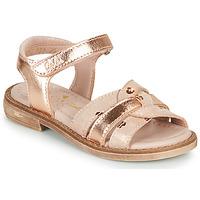 Topánky Dievčatá Sandále Aster TAWA Ružová