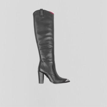 Topánky Ženy Čižmy do mesta Bronx Bottes femme  New-Americana noir
