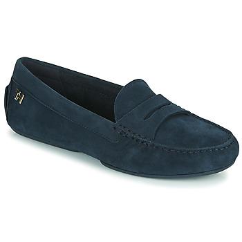 Topánky Ženy Mokasíny Tommy Hilfiger TOMMY ESSENTIAL MOCCASIN Námornícka modrá