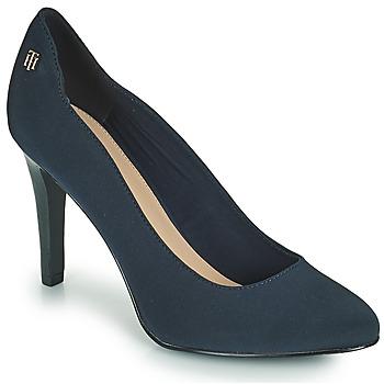 Topánky Ženy Lodičky Tommy Hilfiger TOMMY ESSENTIAL HIGH HEEL PUMP Námornícka modrá