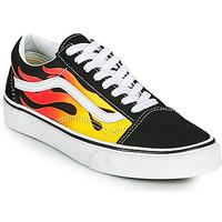 Topánky Nízke tenisky Vans OLD SKOOL Čierna / Oranžová