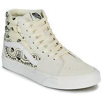 Topánky Členkové tenisky Vans SK8 HI Béžová / Čierna