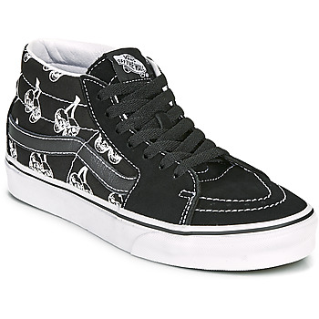 Topánky Členkové tenisky Vans SK8 MID Čierna / Biela