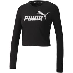 Oblečenie Ženy Tričká a polokošele Puma 583652 čierna
