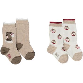 Doplnky Ponožky Melby 20S2100 Béžová