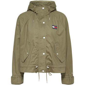 Oblečenie Ženy Saká a blejzre Tommy Jeans DW0DW08587 Zelená