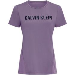 Oblečenie Ženy Tričká a polokošele Calvin Klein Jeans 00GWS0K195 Fialový