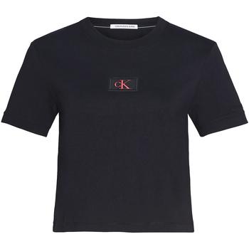 Oblečenie Ženy Tričká a polokošele Calvin Klein Jeans J20J214148 čierna