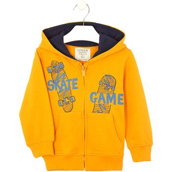 Oblečenie Deti Mikiny Losan 025-6653AL žltá