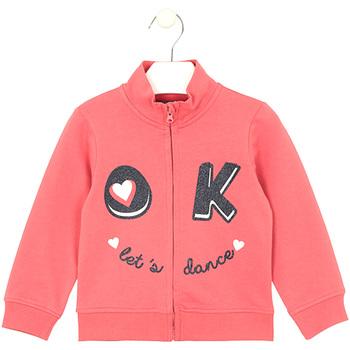 Oblečenie Deti Mikiny Losan 026-6651AL Ružová