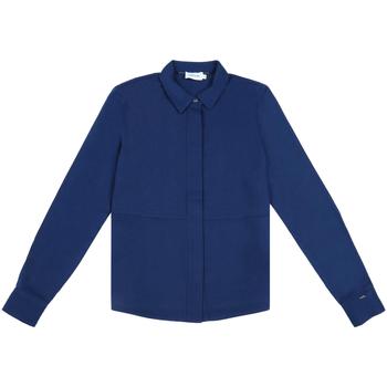 Oblečenie Ženy Košele a blúzky Calvin Klein Jeans K20K202183 Modrá