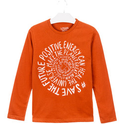 Oblečenie Deti Tričká a polokošele Losan 023-1013AL Oranžová