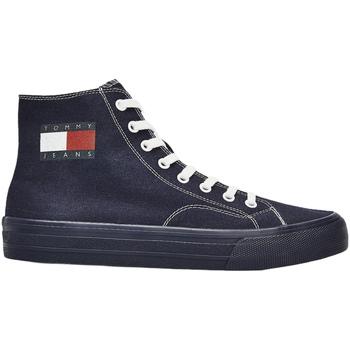 Topánky Muži Módne tenisky Tommy Hilfiger EM0EM00485 Modrá