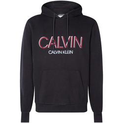 Oblečenie Muži Mikiny Calvin Klein Jeans K10K105584 čierna