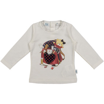 Oblečenie Deti Tričká a polokošele Melby 20C0361 Biely