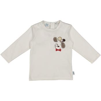 Oblečenie Deti Tričká a polokošele Melby 20C2150 Biely