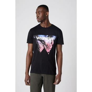 Oblečenie Muži Tričká a polokošele Wrangler T-shirt  Cowboy Cool noir
