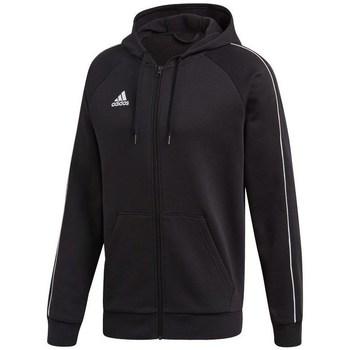Oblečenie Muži Mikiny adidas Originals Core 18 FZ Hoodie Čierna